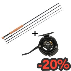 Combo Baetis rod and reel