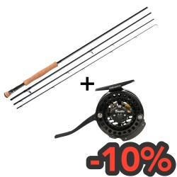 Combo Baetis 3000 rod and reel
