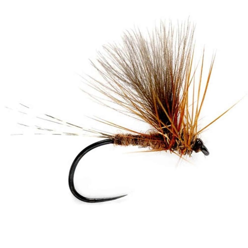 Fly Baetis CDC MARCH BROWN BL