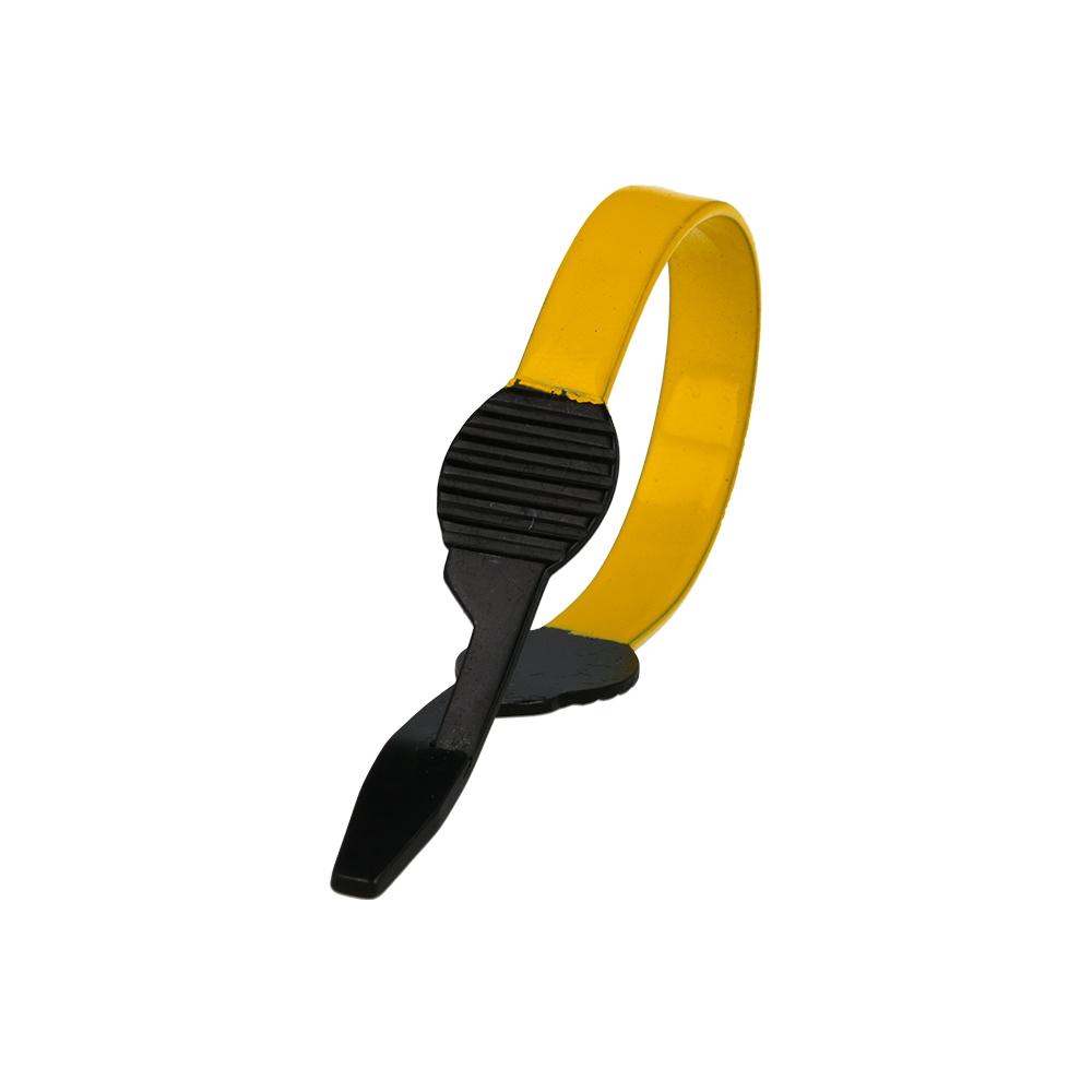 Pinza hackle Baetis special yellow
