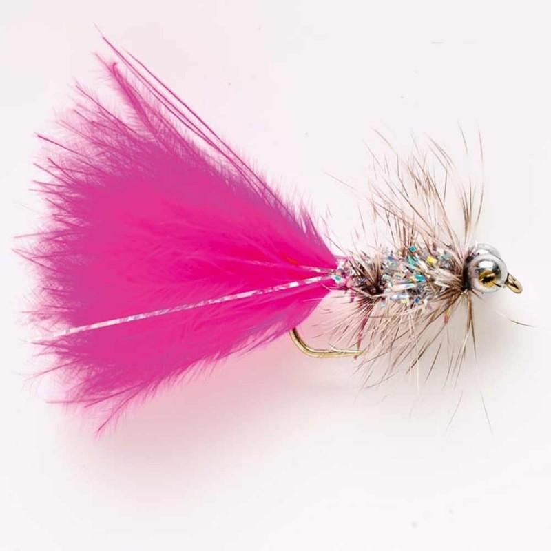 Dry fly Baetis HUMUNGUS PINK S10